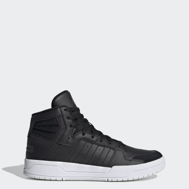 Men's Essentials Black Entrap Mid Shoes
