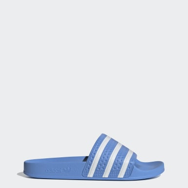 423b40055f12aa Blauw - adilette - Slippers | adidas Nederland