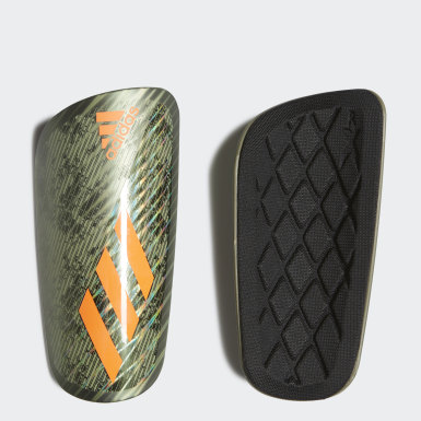 Football Green X Pro Shin Guards