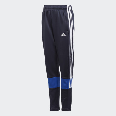 Boys Training Blue Must Haves 3-Stripes AEROREADY Joggers