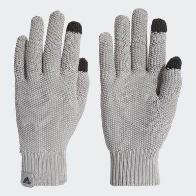 серый Перчатки