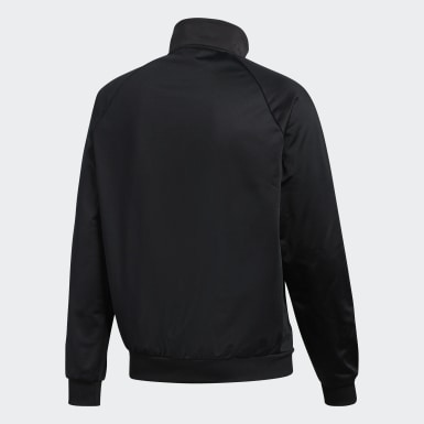 Men Athletics Black Essentials Track Jacket