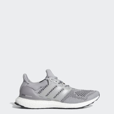 Men Running Grey Ultra Boost Shoes