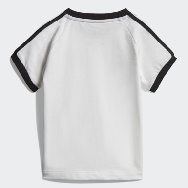 Bebek Originals White 3 Bantlı Tişört