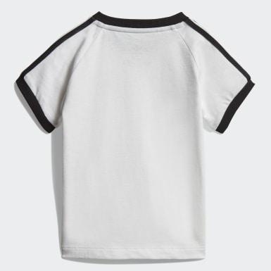 Jongens Originals Wit 3-Stripes Shirt