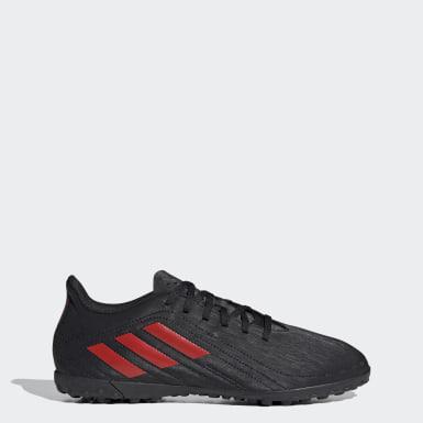 Zapatos de Fútbol Deportivo Pasto Sintético Negro Hombre Fútbol