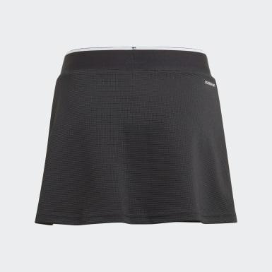 Falda Club Negro Niña Tenis