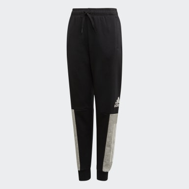Youth Training Black Sport ID Pants