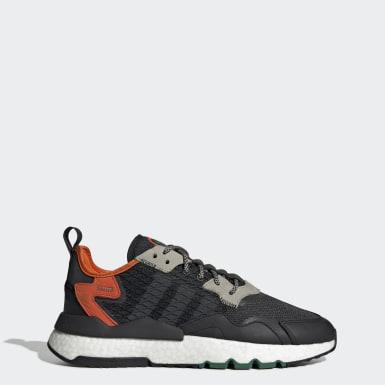 Sapatos Nite Jogger Preto Homem Originals