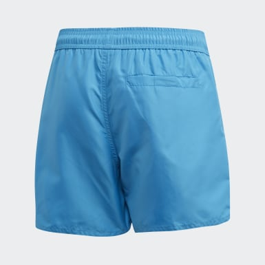 Classic Badge of Sport Swim Shorts Turkusowy