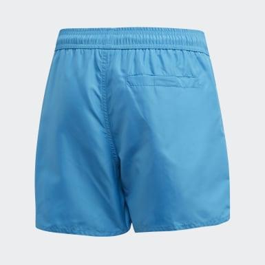 Chlapci Plávanie tyrkysová Plavecké šortky Classic Badge of Sport