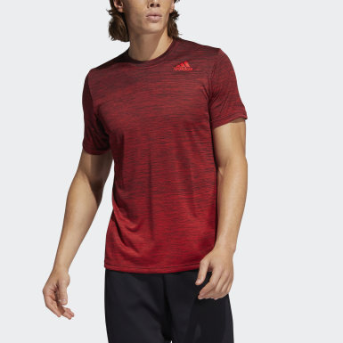 Men Training Red Tech Gradient Tee