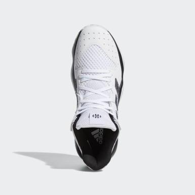 Frauen Basketball Harden Stepback Schuh Weiß