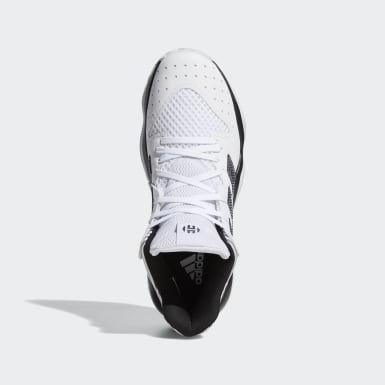 Women Basketball White Harden Stepback Shoes