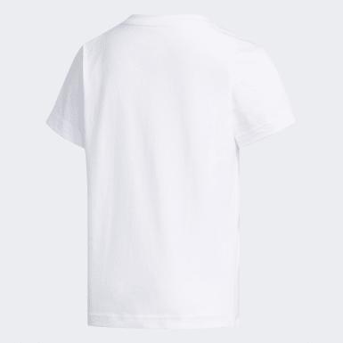 T-shirt Trefoil Blanc Enfants Originals