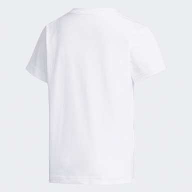 Barn Originals Vit Trefoil Tee