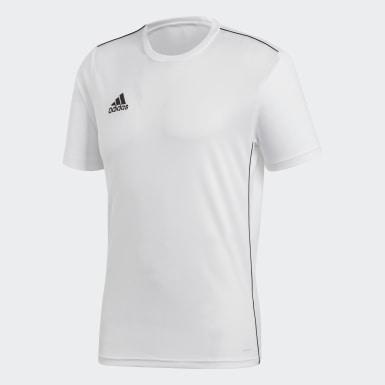 Camiseta de Entrenamiento Core 18 Blanco Hombre Fútbol