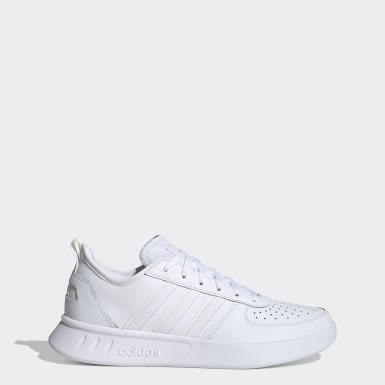 Women Sport Inspired White Court 80s Shoes