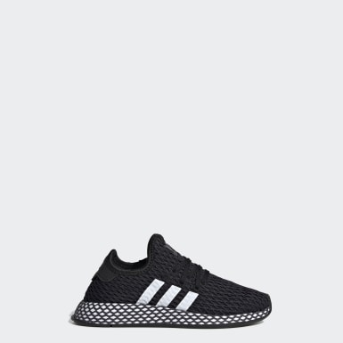 Zapatilla Deerupt Runner Negro Niño Originals