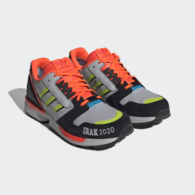 Originals Grey ZX 8000 Irak Shoes