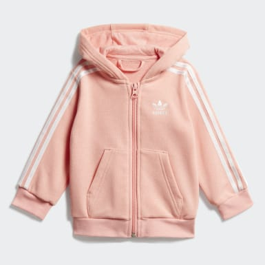 Infant & Toddler Originals Pink Hoodie Set