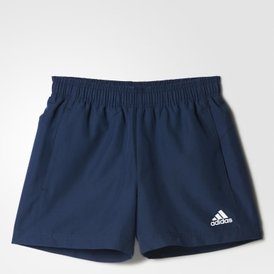 Shorts Essentials Base Chelsea Azul Meninos Athletics