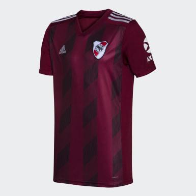 Camiseta Uniforme de Visitante River Plate sin Sponsor Burgundy Hombre Fútbol
