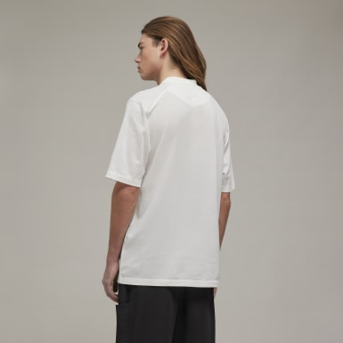 Men's Y-3 White Y-3 CL Polo