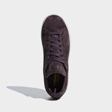 Women Originals Burgundy Stan Smith New Bold Shoes