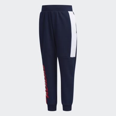 เด็กผู้ชาย เทรนนิง สีน้ำเงิน กางเกงขายาว Striker