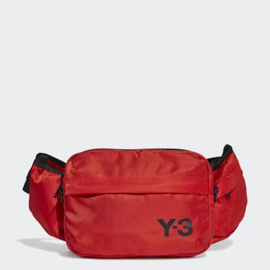 Y-3 Y-3 Sling Bauchtasche Rot