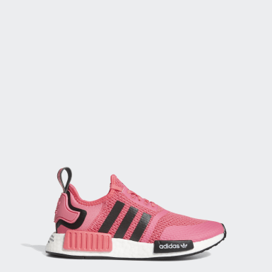 Kids Originals Pink NMD_R1 Shoes