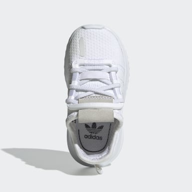 Infant & Toddler Originals White U_Path Run Shoes