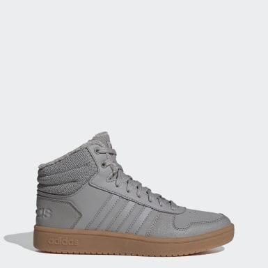 серый Баскетбольные кроссовки Hoops 2.0 Mid