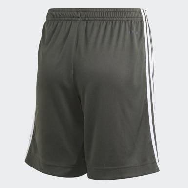 Short Away Manchester United Verde Bambini Calcio