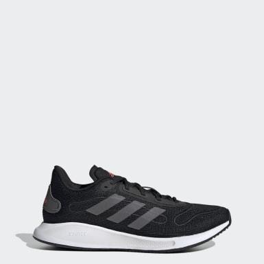 Women Running Black Galaxar Run Shoes