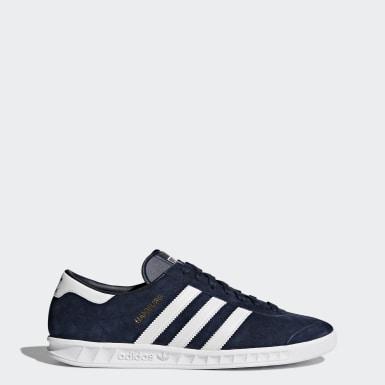 Buty Hamburg Shoes Niebieski