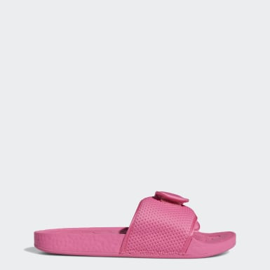 Chinelos Boost Pharrell Williams Rosa Homem Originals