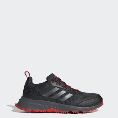 Men Running Black Rockadia Trail 3.0 Shoes