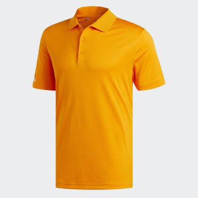 Polo Performance orange Hommes Golf