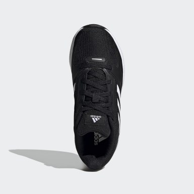 Children Running Black Runfalcon 2.0 Shoes