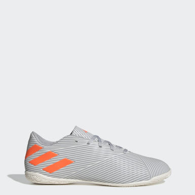 Soccer Grey Nemeziz 19.4 Indoor Shoes