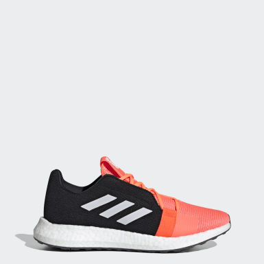 Men Running Orange Senseboost GO Shoes