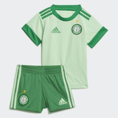 Kit Alternativo 20/21 do Celtic FC para Bebé Verde Criança Futebol