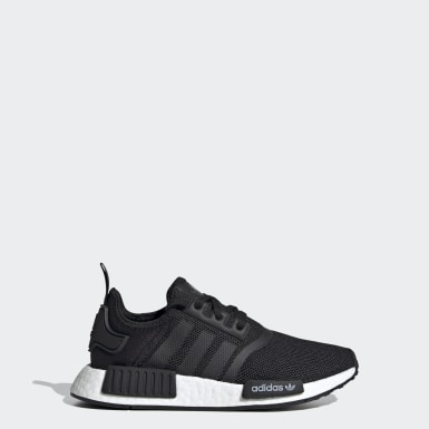 Barn Originals Svart NMD_R1 Shoes