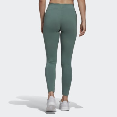 Women's Essentials Green Essentials Linear Tights