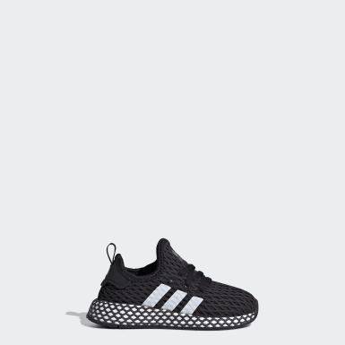 Kids Originals Black Deerupt Runner Shoes