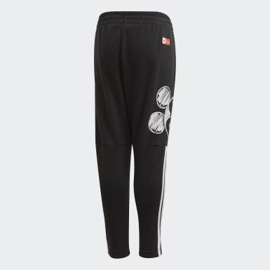 Kluci Trénink černá Kalhoty Mickey Mouse