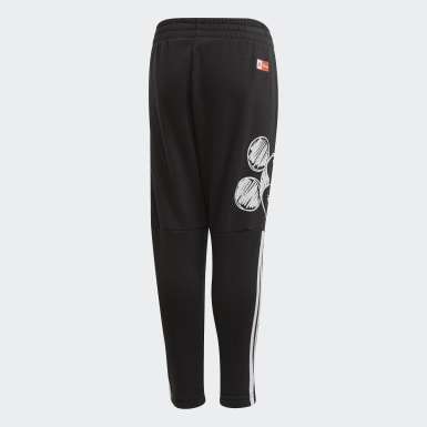 Boys Training Black Mickey Mouse Joggers