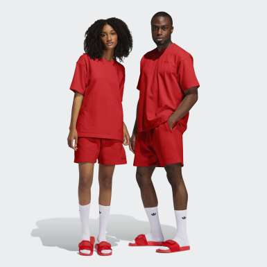 Originals Red Pharrell Williams Basics Shorts (Gender Neutral)